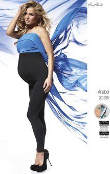 76c9cfceb7bc49 ANABEL Legginsy ciążowe 200 DEN S-XL